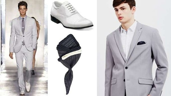 What color shoes can I wear with my gray suit? - Quora
