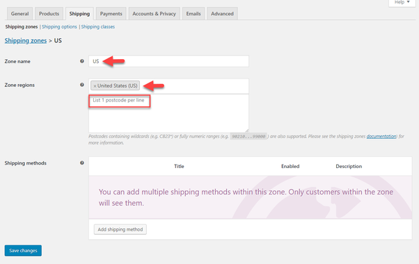 What is the way to add shipping methods in WooCommerce? - Quora