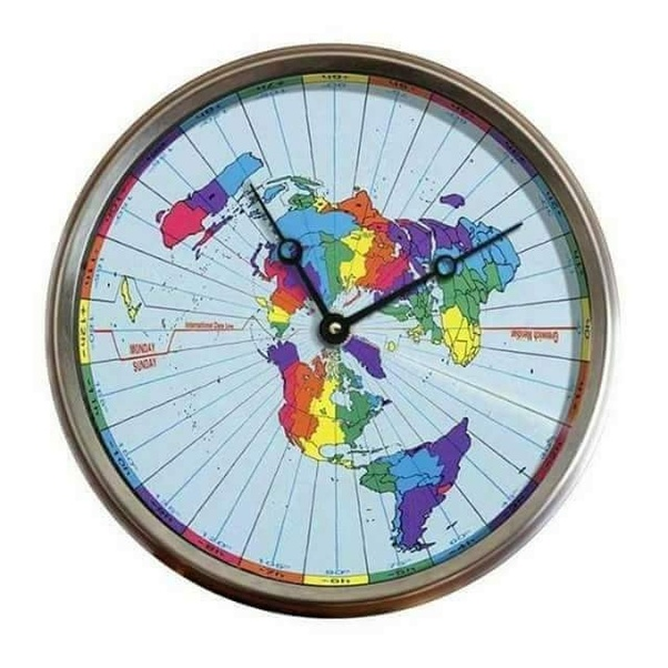 How does a flat Earther explain time zones on Earth?   Quora