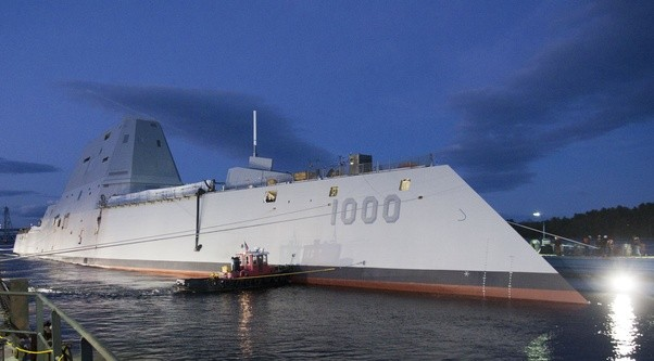 Historically, When The Navy Deploys A New Ship Class, No More Than Three  New Technologies Are Introduced. The Zumwalt Class Incorporates Sixteen    This Is ...