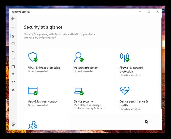 How to update Windows Defender Security Center in Windows 10 - Quora