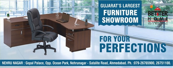 which is the best furniture showroom for office furniture in