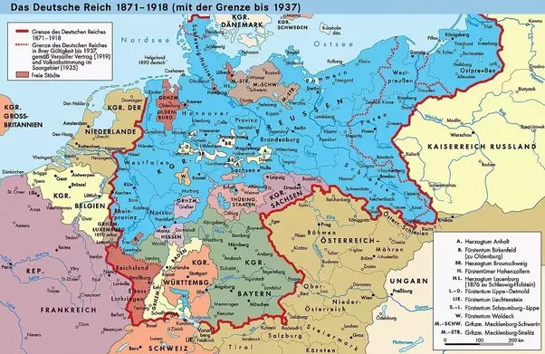 How much bigger was germany before the 2nd world war quora the spectacularly large british empire started to disintegrate the german kaiser disappeared in russia the revolution toppled the tsar gumiabroncs Choice Image