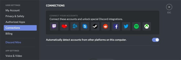 How will I add my gaming accounts in Discord? - Quora