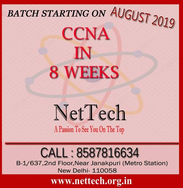 What are the job opportunities for CCNA for fresher in India