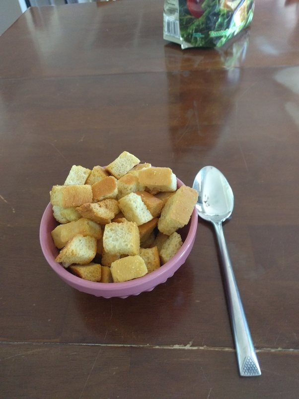 What is your favorite cereal quora i dont really eat cereal but croutons are great people eat cereal without milk and its really not that different its covered in garlic instead of ccuart Gallery