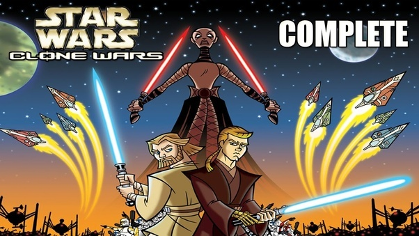 why are there two star wars cartoons called the clone wars