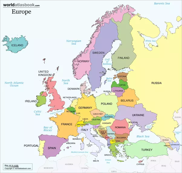 above is a map of european countries as you can see ireland is in north west europe the northern parts of europe have traditionally been made up of fair