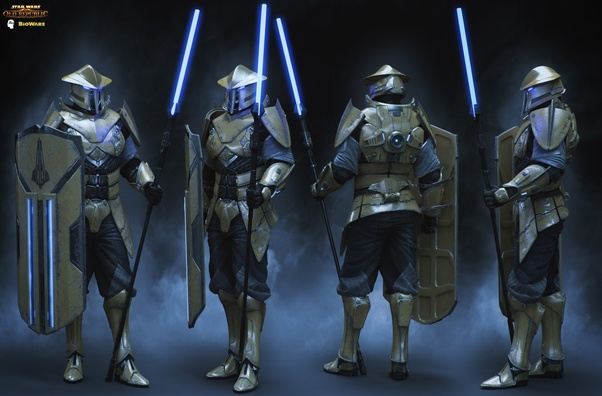 How powerful were the Knights of Zakuul and the Eternal