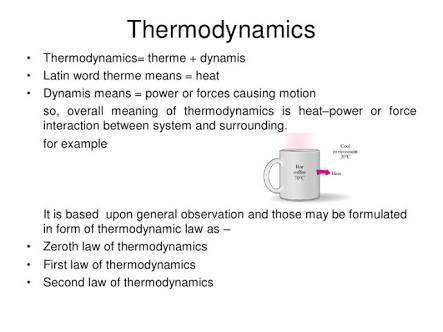What is thermodynamics in mechanics? - Quora