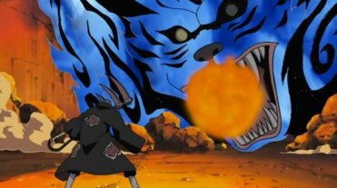 What was the episode when the two tails from Naruto