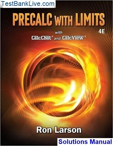 Where can I read the solutions manual for Precalculus with