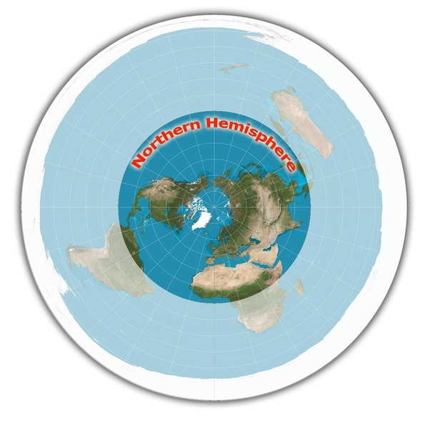 If we are to believe that the earth is flat why is the centre the southern hemisphere or what they call outside the equator is on the outside of the northern hemisphere and its ridiculously stretched out gumiabroncs Gallery