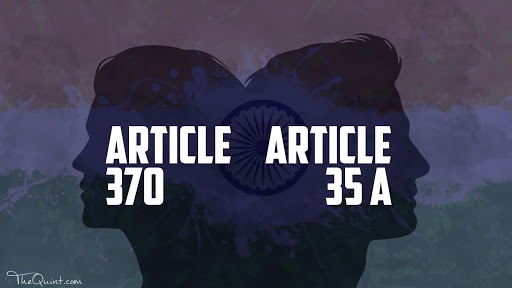 What is the difference between article 35A and article 370