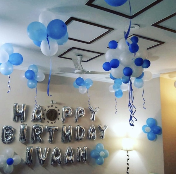 What are some simple birthday balloons decoration ideas at ...