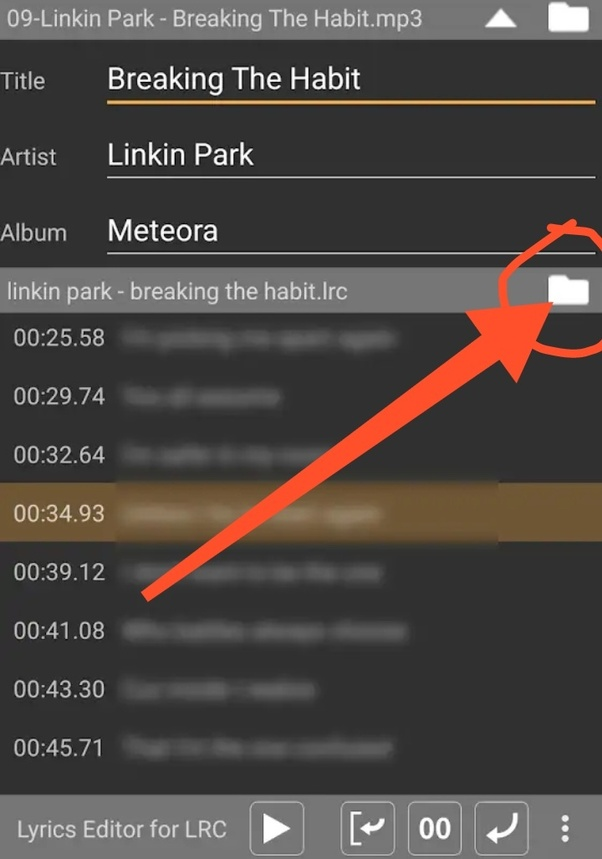 How to add lyrics on Android music player - Quora