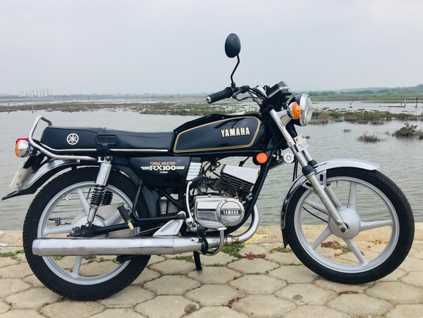 Rx100 Was Extremely Por During The Late 80s And Early 90s Bike Made Strong Rigid Engine Though 100cc Only But Behaved As If