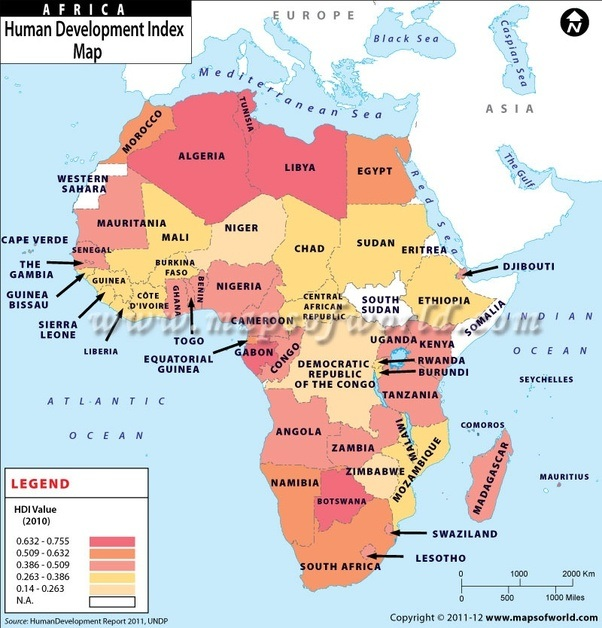 Is Ethiopia a developed country compared with other African ...