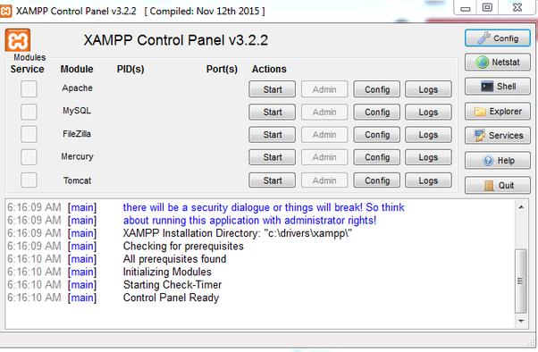 Host Website On Xampp