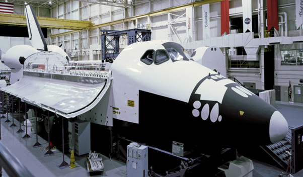 What has happened to the Space shuttle simulator now that the