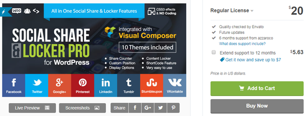 What is the best content or social locker plugin for a