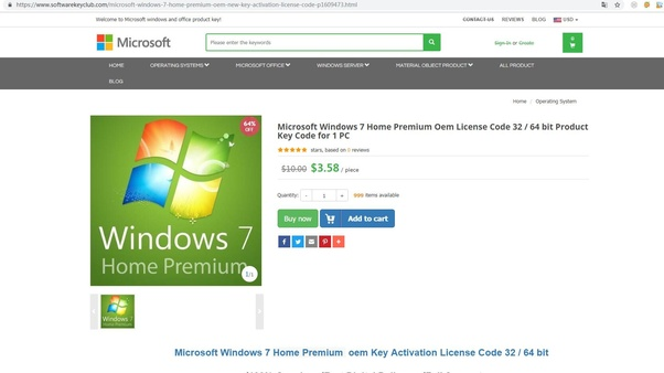 buy a new product key online windows 7