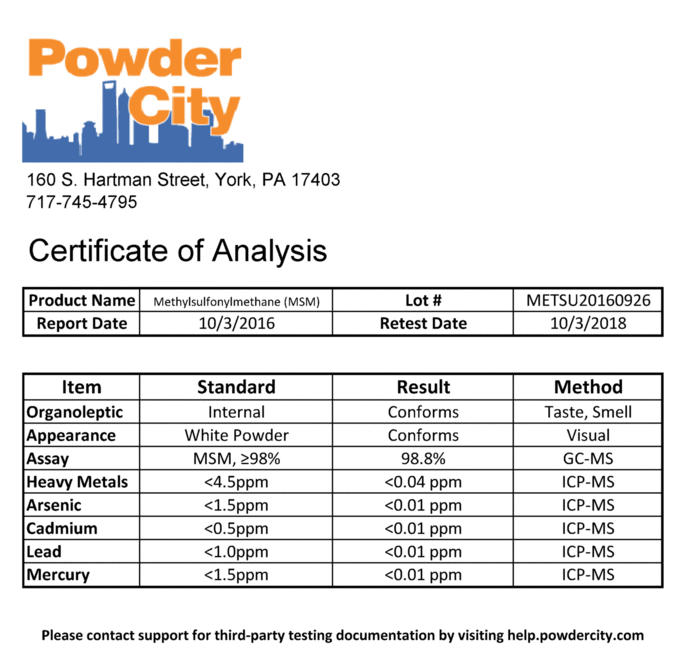 Are Nootropics From Powder City Safe From A Purity Contamination