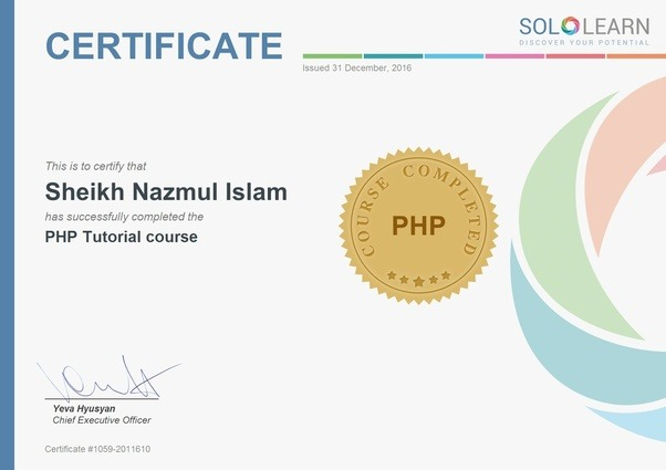 Does sololearn certificate has any value? - Quora