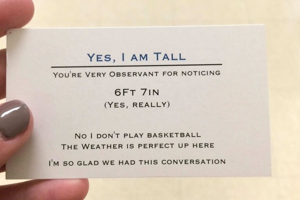 What is the best business card you have seen quora love these cards actors steve martin and jonah hill and the yes im tall card very creative colourmoves