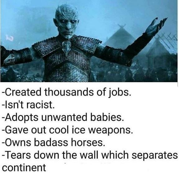 Game of Thrones Night Kings merit list