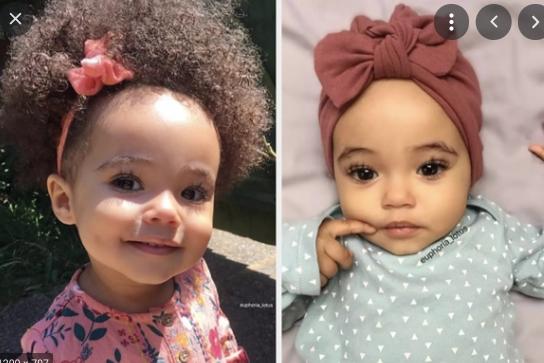 Babies race ugly mixed Mulatto