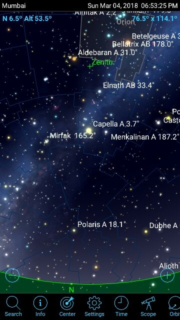 How To Locate A Pole Star Using Orion Quora
