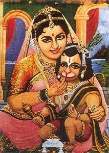 Parents of hanuman