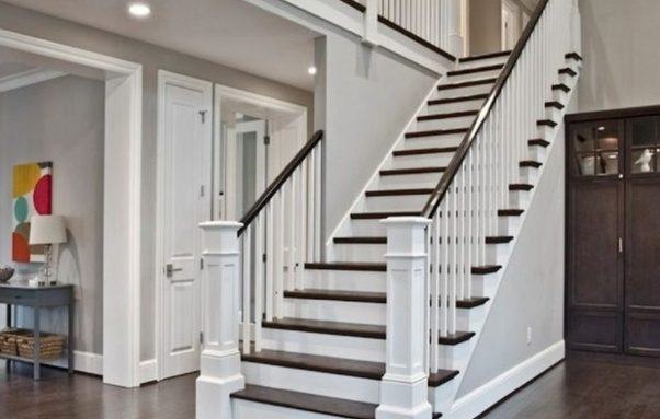 Lovely An Open Stairway Is A Stairway That Is In A Larger Space, Such As A Large  Room Or Outdoors.
