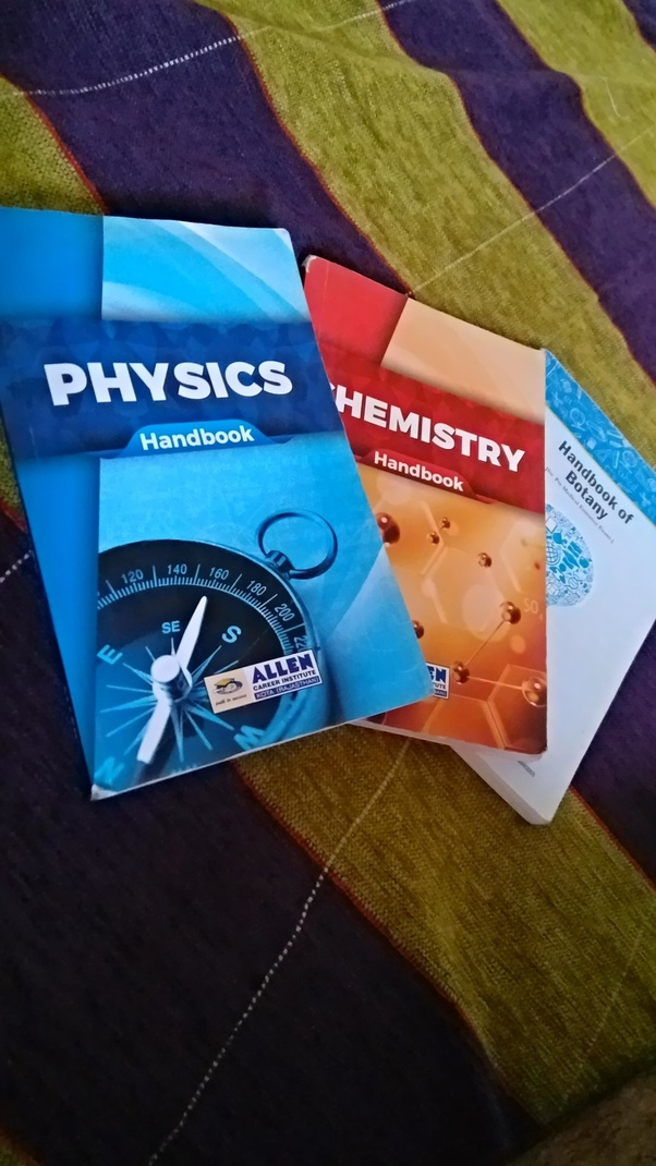 How to get the ALLEN formula books for physics, chemistry and
