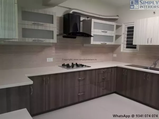 how much does a decent modular kitchen cost quora. Black Bedroom Furniture Sets. Home Design Ideas