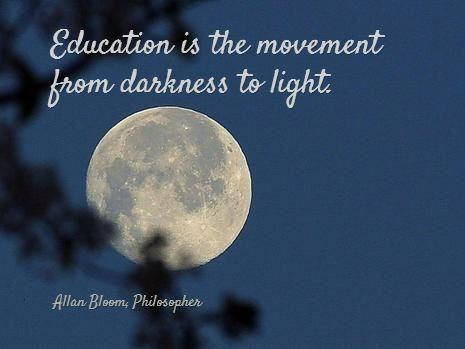 education is the movement from darkness to light essay Board of education the civil rights movement in america essay - i the civil rights movement essay - darkness cannot drive out darkness only light.