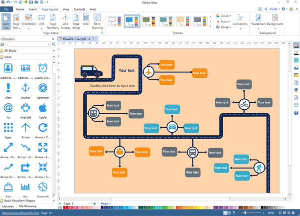i can create diagrams and charts for a wide range of categories like economic data science charts flowcharts mind maps org charts infographics