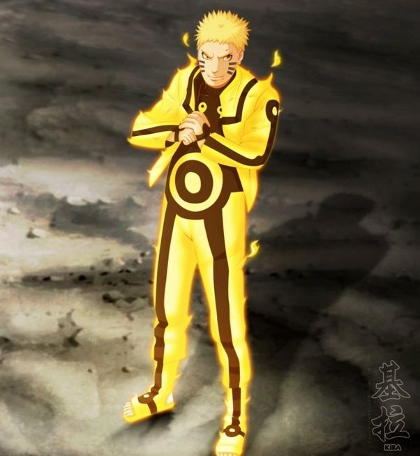 why does naruto when he turns into a tailed beast the