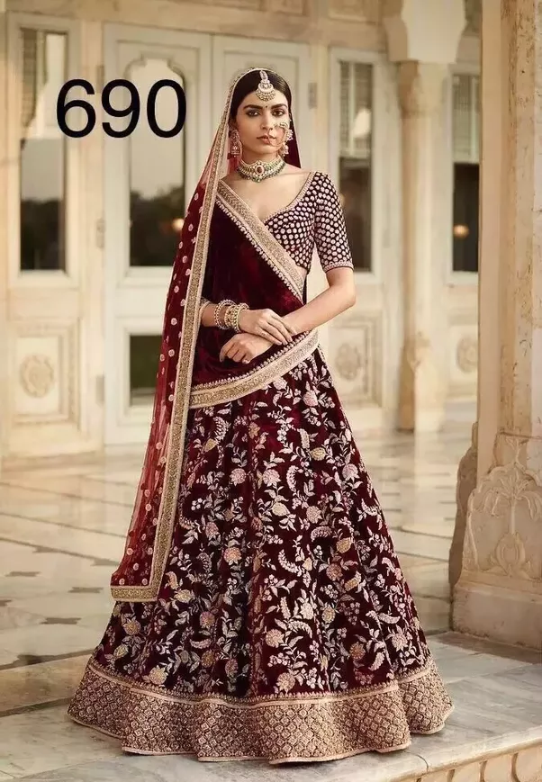 Where can I find a good wedding/reception lehenga in Mumbai for ...