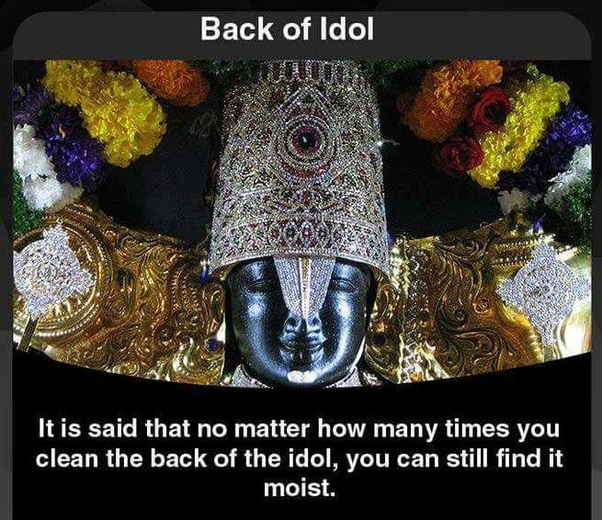What are some unknown facts about the Tirupati Balaji Temple