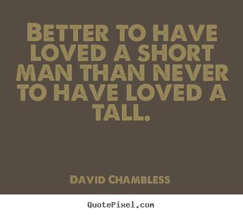 love short men