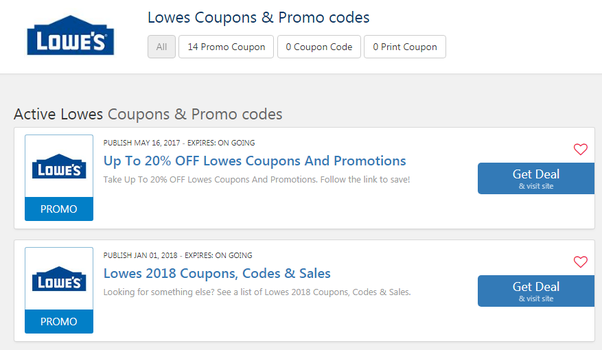 picture about Lowes Coupons Printable identify Exactly where do I uncover Household Depot or Lowes discount codes? - Quora