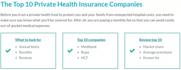 private health insurance australia why  What are the advantages of taking out private health insurance in ...