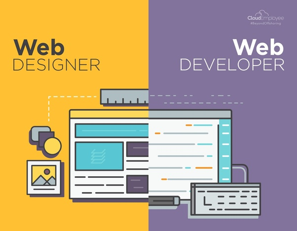 What Is The Difference Between A Web Developer And A Web Designer Quora