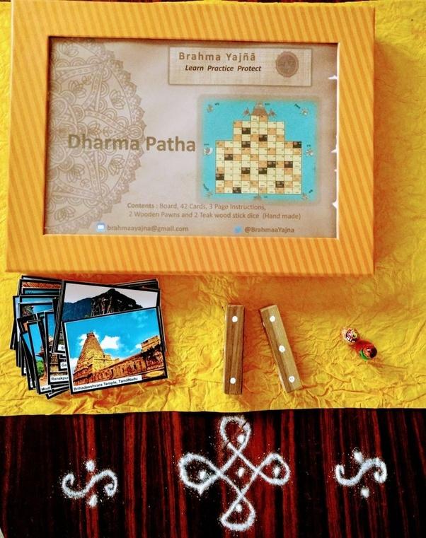 Indisches Brettspiel