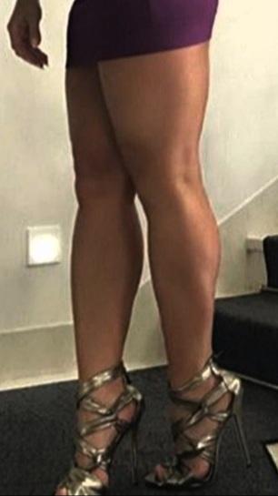 Big ass high heels