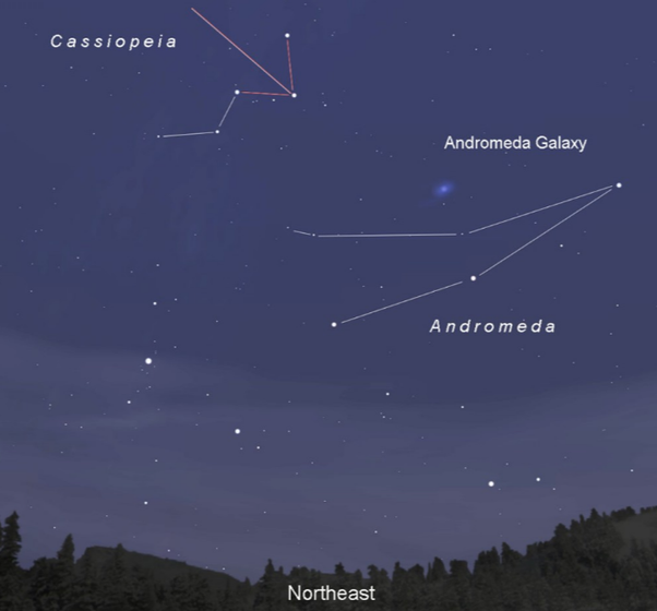 From where on Earth can you see the Andromeda Galaxy? - Quora