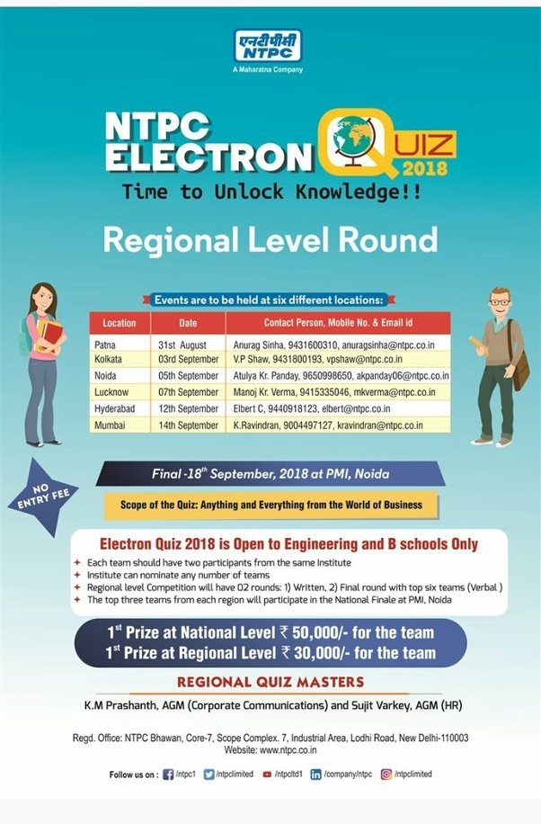 What is the NTPC Electron Quiz? What is the process to participate