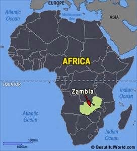 Where Is Zambia Located On The Map Quora - Where is zambia